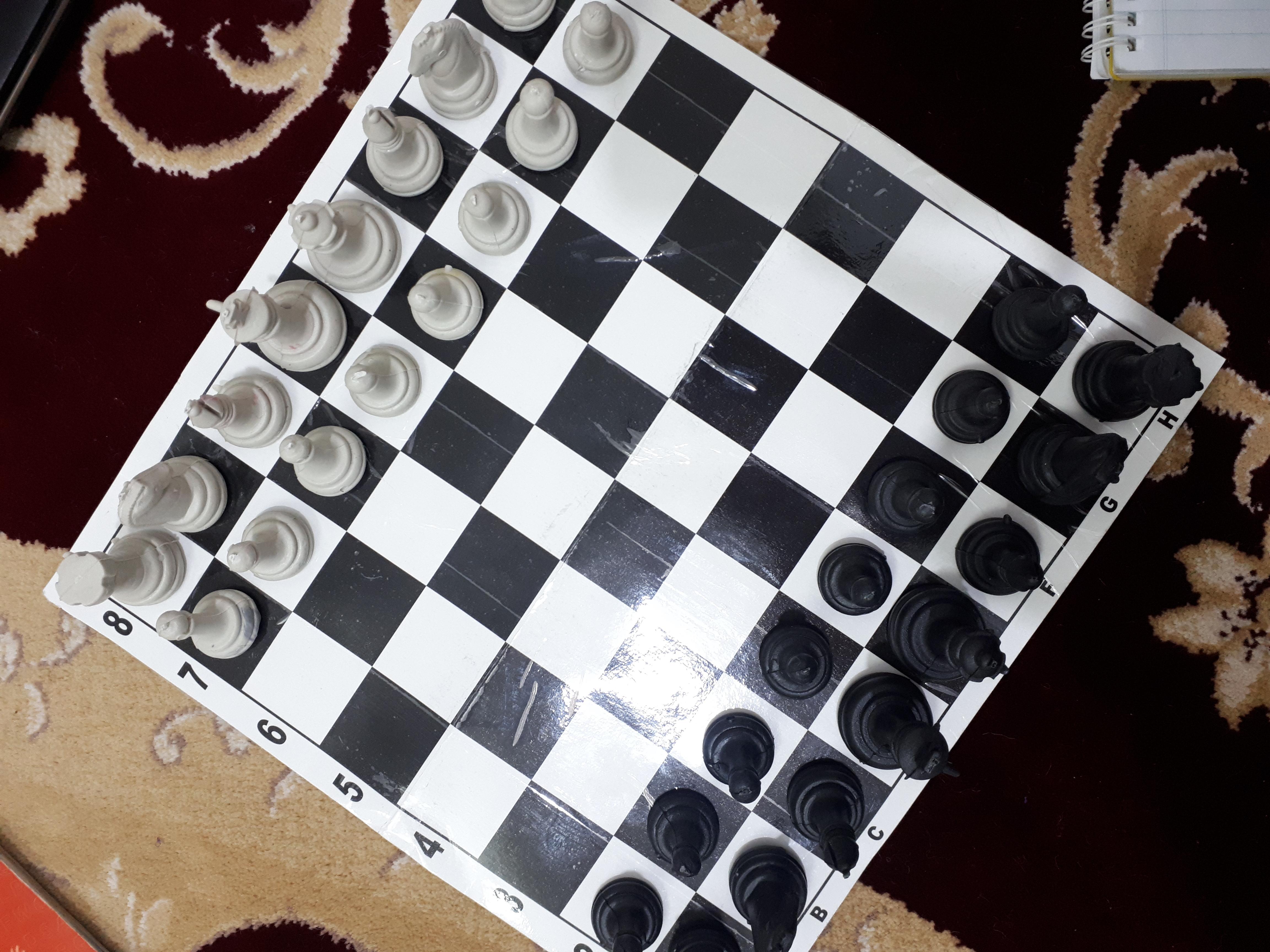 عکس شطرنج مقوایی ارزان