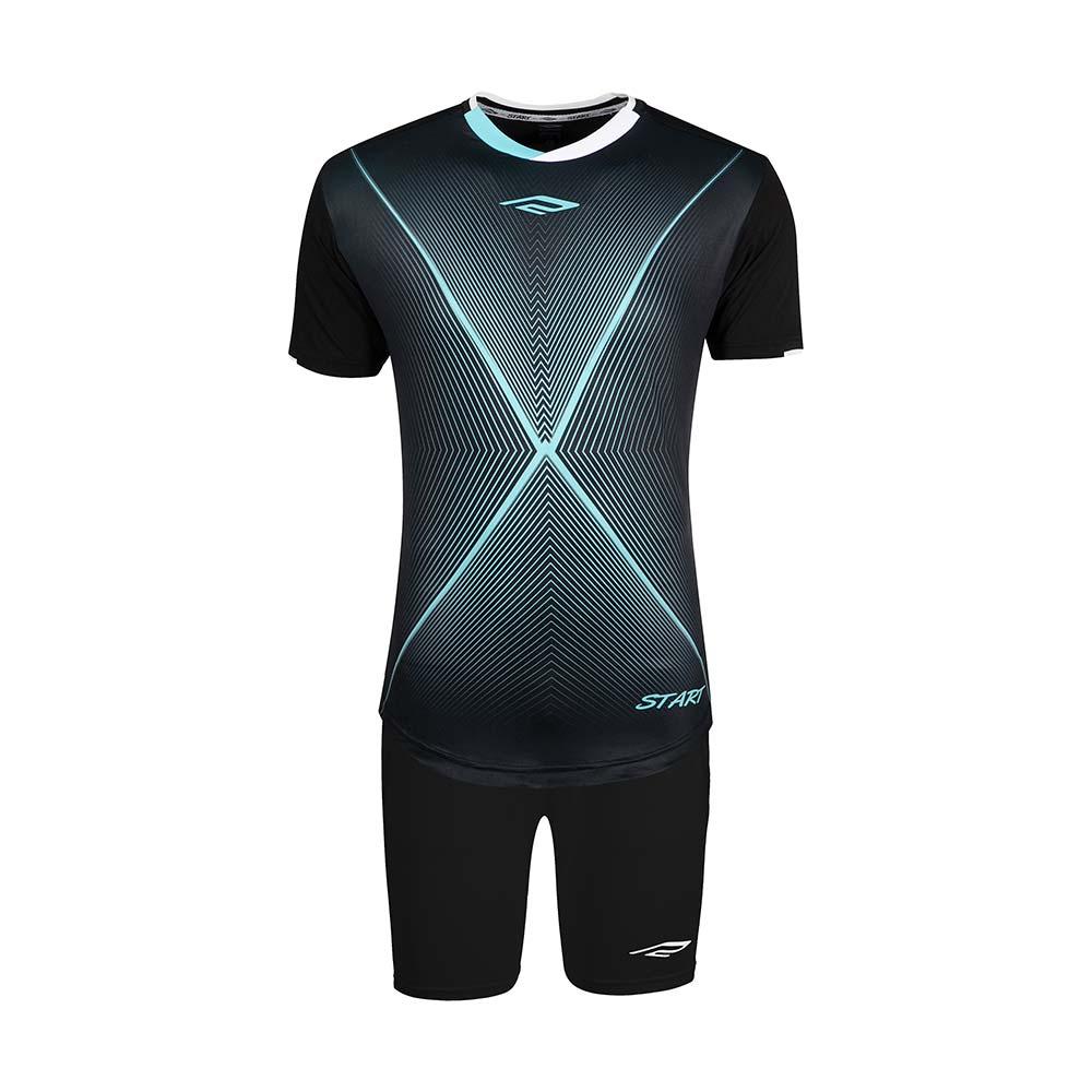 ست پیراهن و شورت ورزشی مردانه استارت مدل FC1005-6