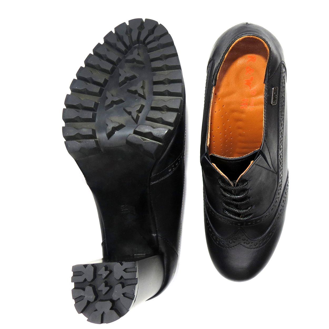 کفش زنانه آر اند دبلیو مدل 603 رنگ مشکی -  - 6