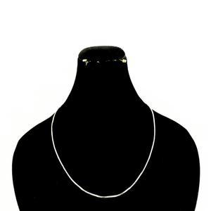 زنجیر نقره زنانه کد DG675