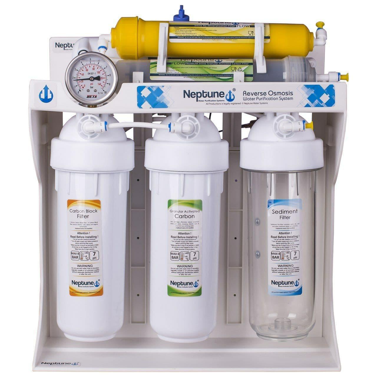دستگاه تصفیه کننده آب نپتون مدل RO- P