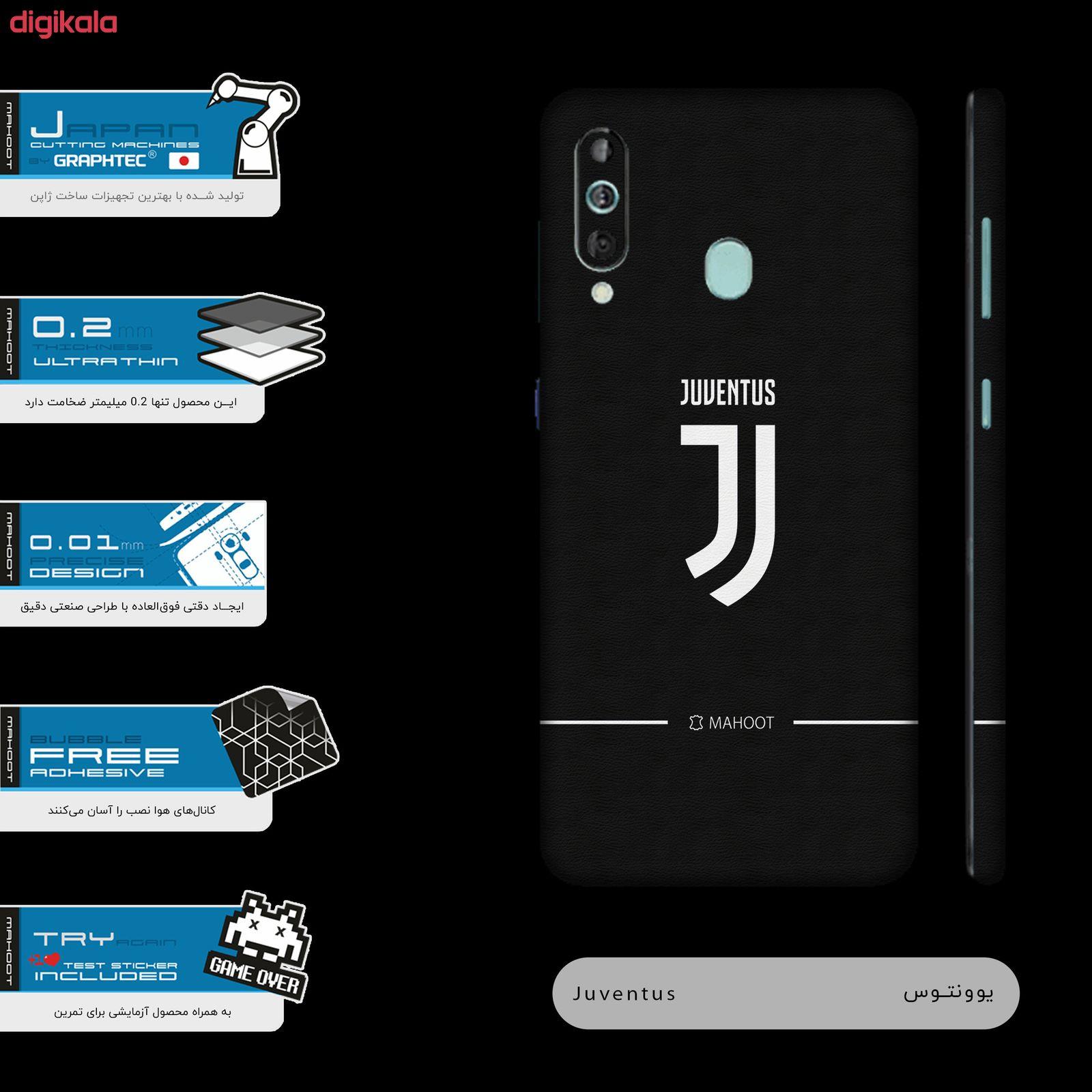 برچسب پوششی مدل Juventus-FC مناسب برای گوشی موبایل سامسونگ Galaxy A60