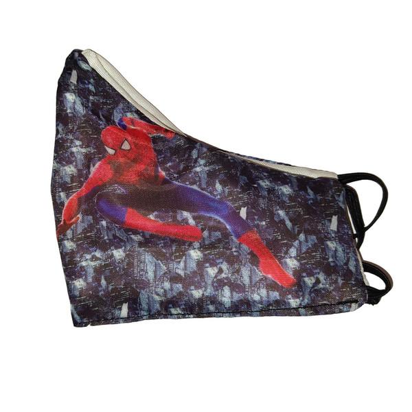 ماسک تزئینی کالای ورزشی پروین طرح مرد عنکبوتی