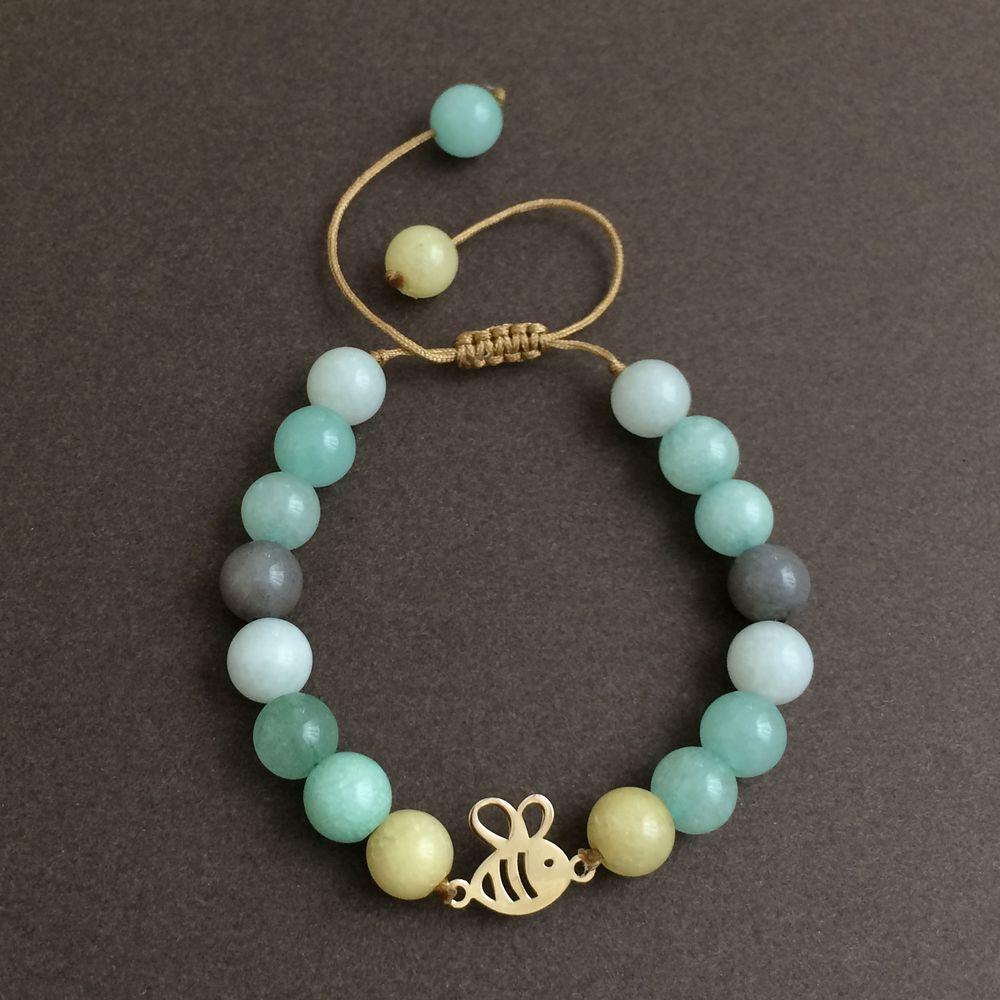 دستبند طلا 18 عیار زنانه الماسین آذر کد ZANBUR01