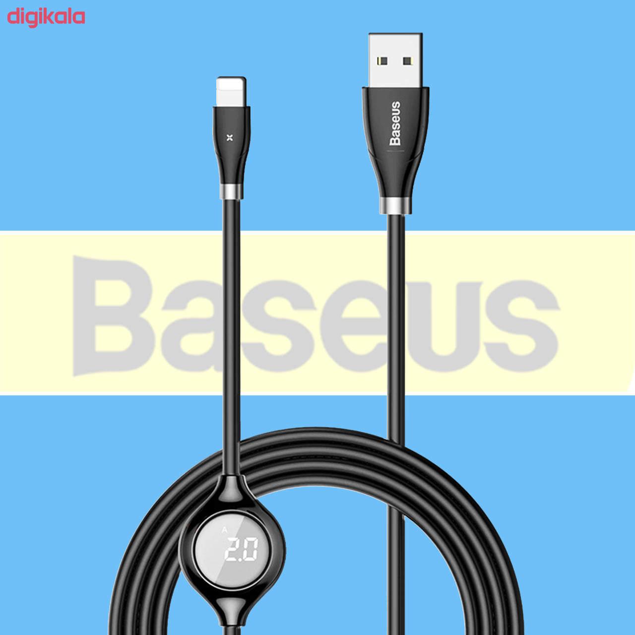 کابل تبدیل USB به لایتنینگ باسئوس مدل CALEYE طول 1.2 متر main 1 3