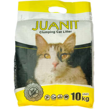 خاک بستر گربه ژوانیت مدل پریمیوم وزن 10 کیلوگرم