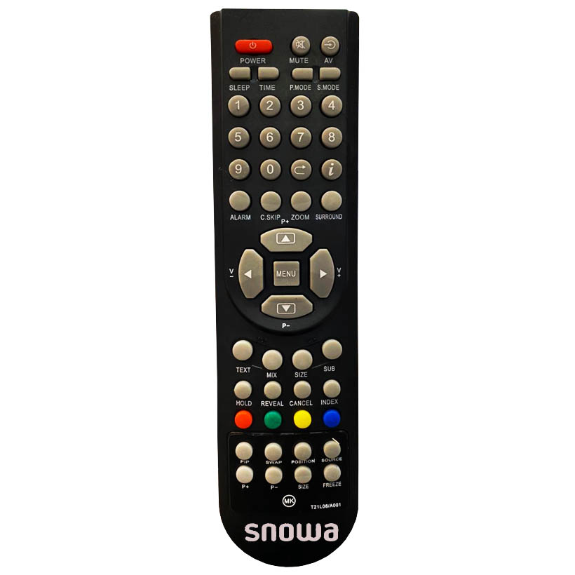 ریموت کنترل اسنوا مدل T21L08/A001