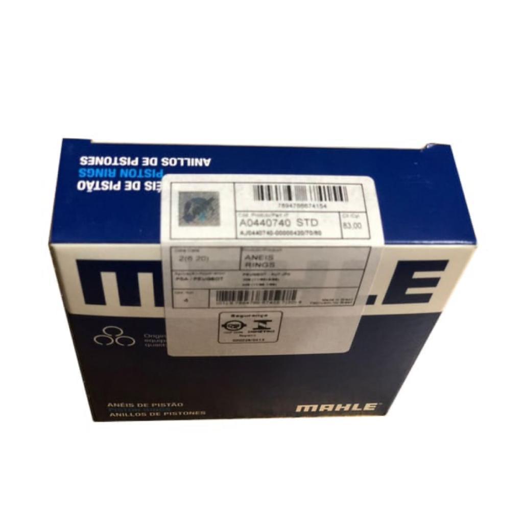 رینگ موتور ماهله کد 0440740STD مناسب برای پژو 405 بسته 20 عددی main 1 2