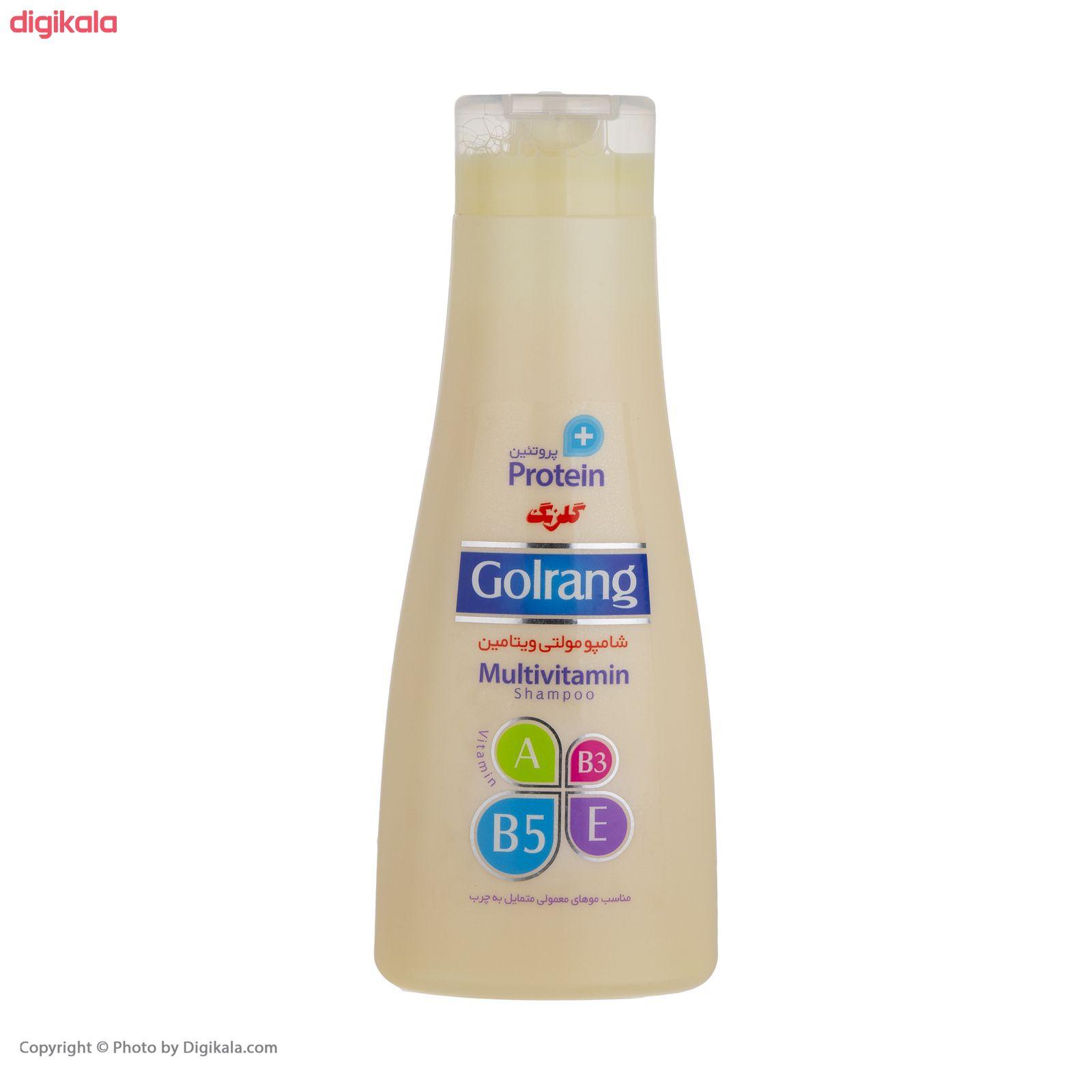 شامپو موی گلرنگ سری Plus Protein مدل Oily Hair مقدار 900 گرم