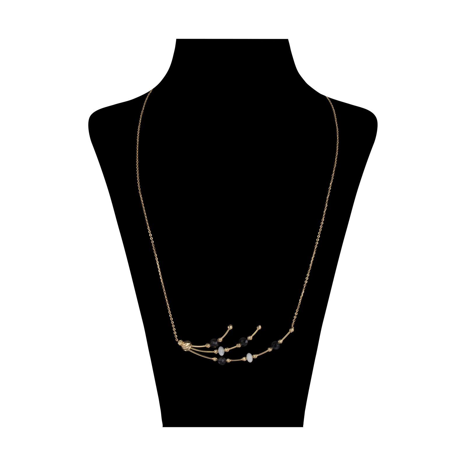 گردنبند طلا 18 عیار زنانه سیودو مدل 146427 -  - 2