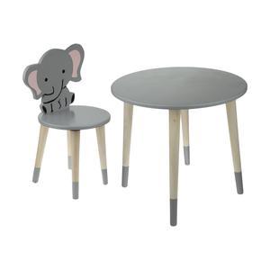 ست میز و صندلی کودک مدل فیل