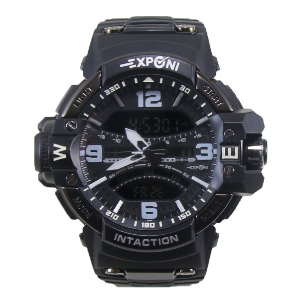 ساعت مچی عقربه ای مردانه اکسپونی مدل EP3262-BK