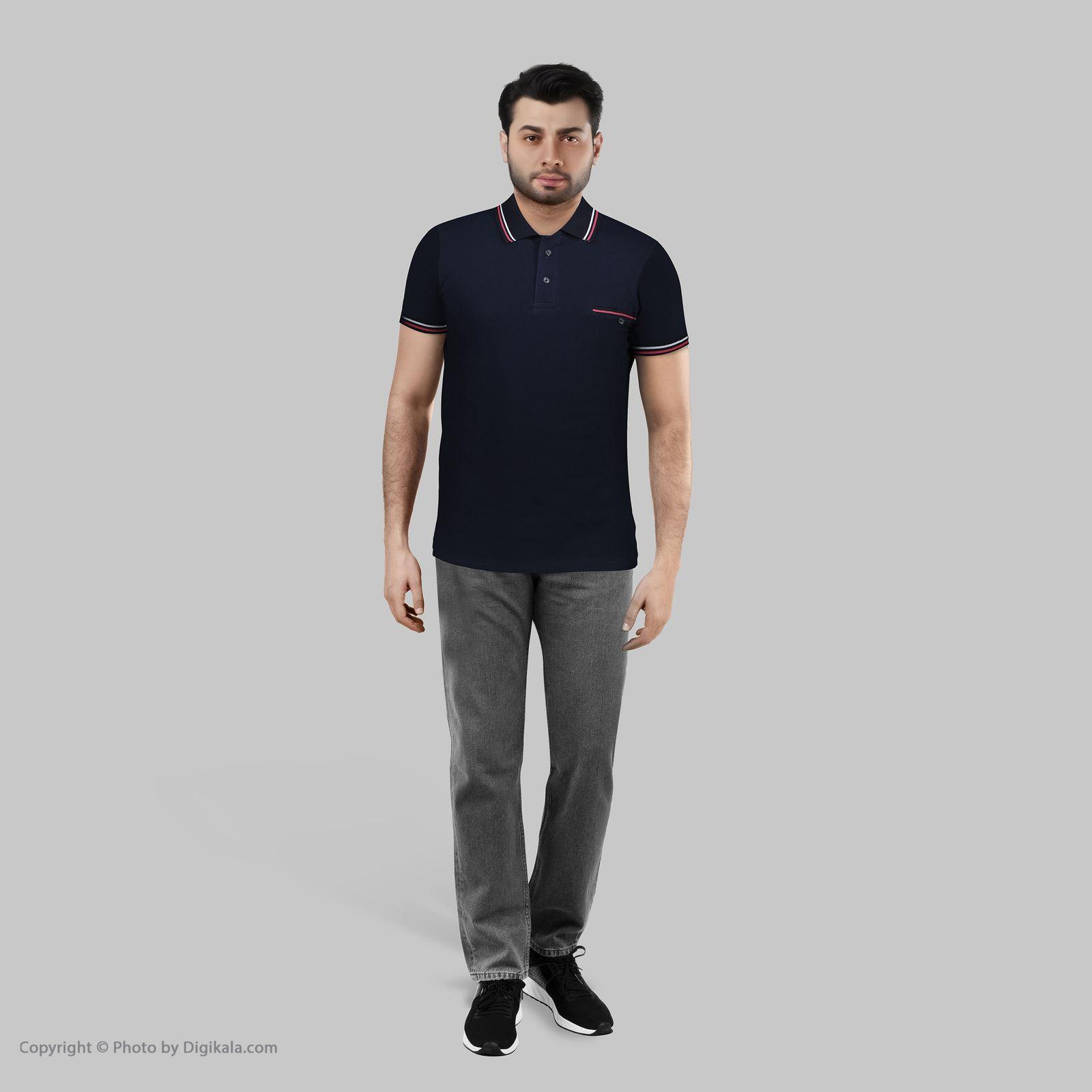 پولوشرت آستین کوتاه مردانه باینت مدل 379-1 -  - 3