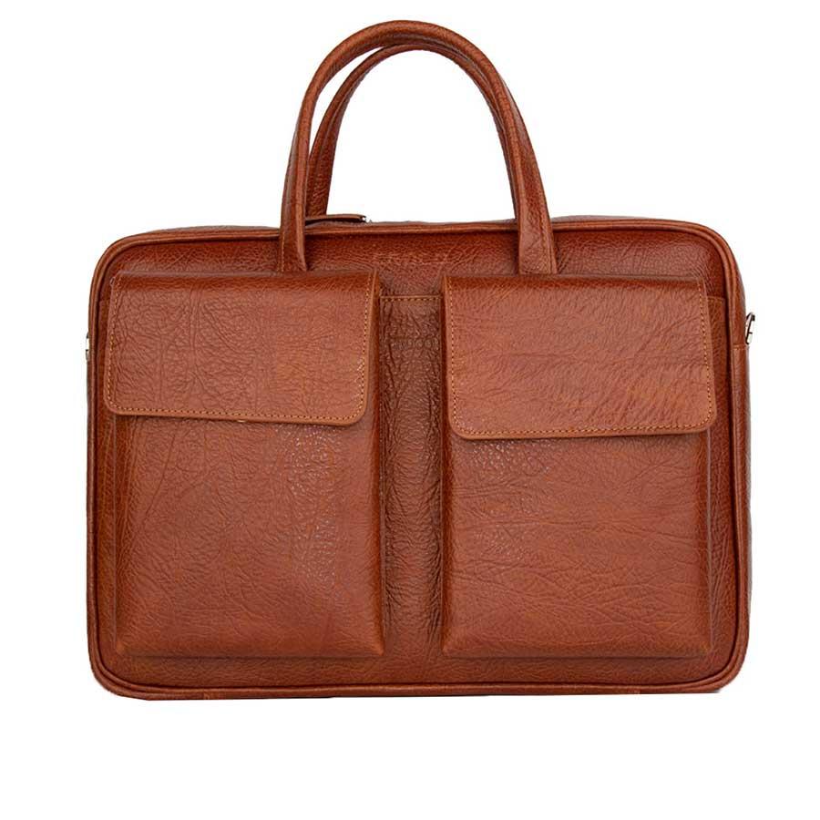کیف اداری چرم کروکو مدل 208010002