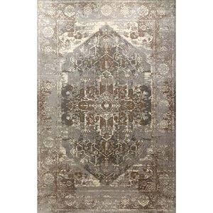 فرش ماشینی ساوین کد ۴۰۸۲ زمینه نقره ای