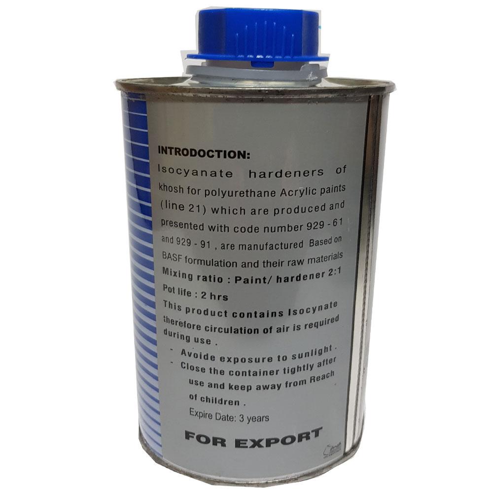قیمت                                      خشک کن رنگ پلی اورتان خوش کد 929-91 حجم 0.5 لیتر