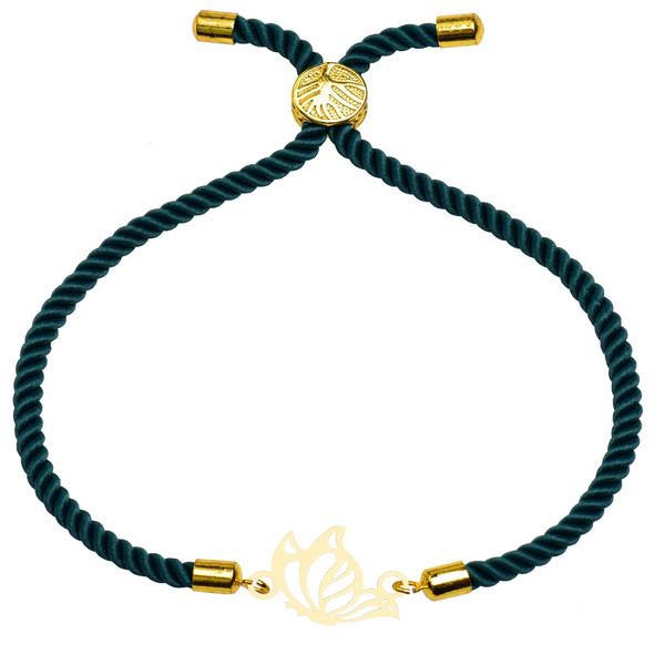 دستبند زنانه کرابو طرح پروانه مدل kb20-51