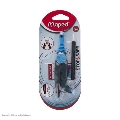 پرگار مپد مدل استوپ سیف کد34