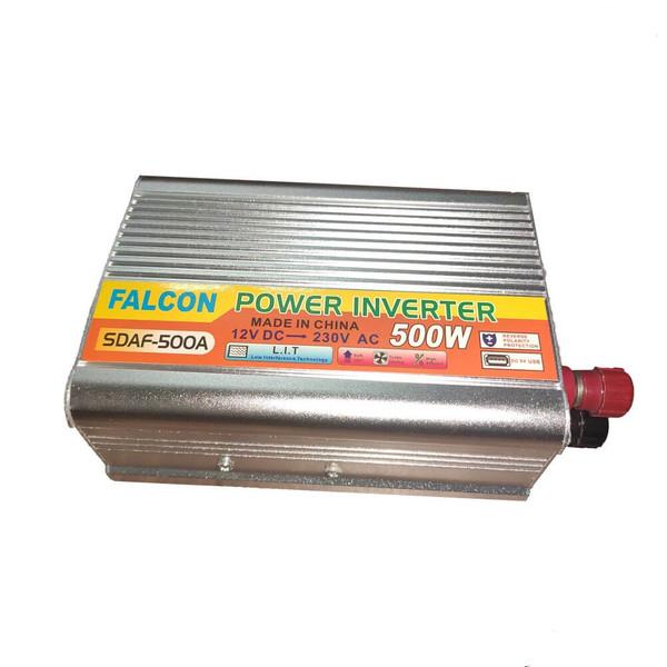 مبدل برق خودرو فالکون کد 500