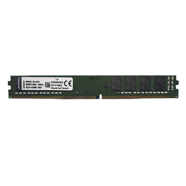 رم دسکتاپ DDR4 تک کاناله 3200 مگاهرتز cl22 کینگستون مدل kvr ظرفیت 8 گیگابایت
