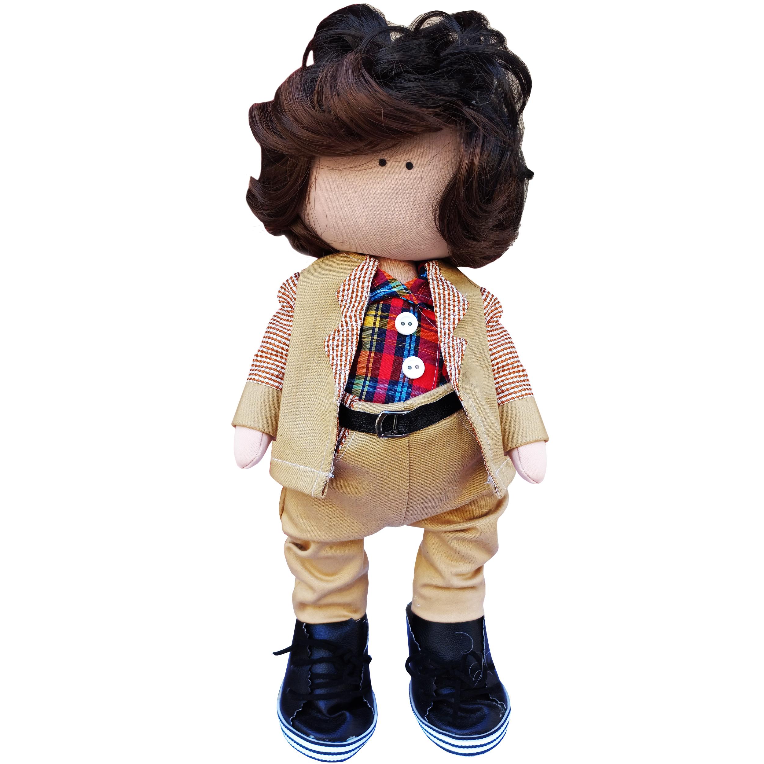 عروسکطرح روسی پسر مدل الکسی کد N9891 ارتفاع 40 سانتی متر