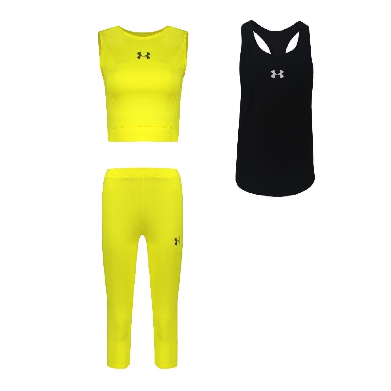 ست 3 تکه لباس ورزشی زنانه کد k-64-3101                     غیر اصل