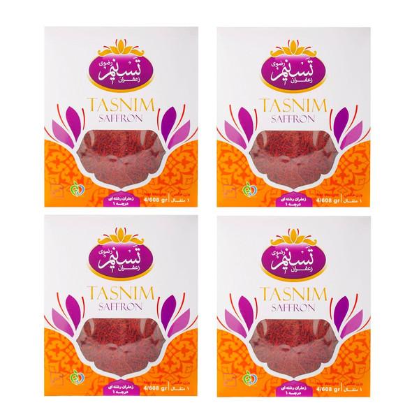 زعفران سرگل تسنیم - 4.608 گرم بسته 4 عددی