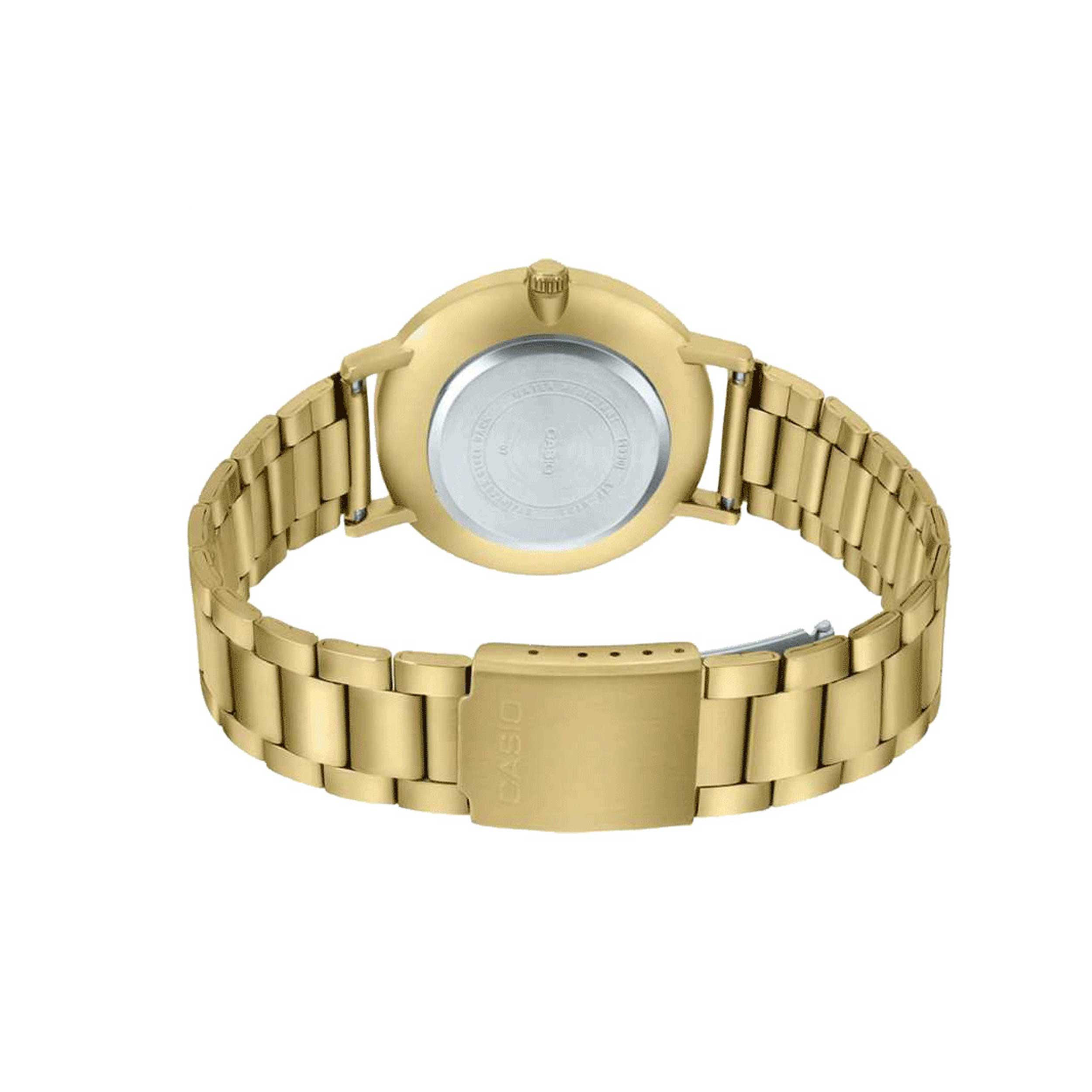 ساعت مچی عقربه ای زنانه کاسیو مدل LTP-VT01G-2BUDF