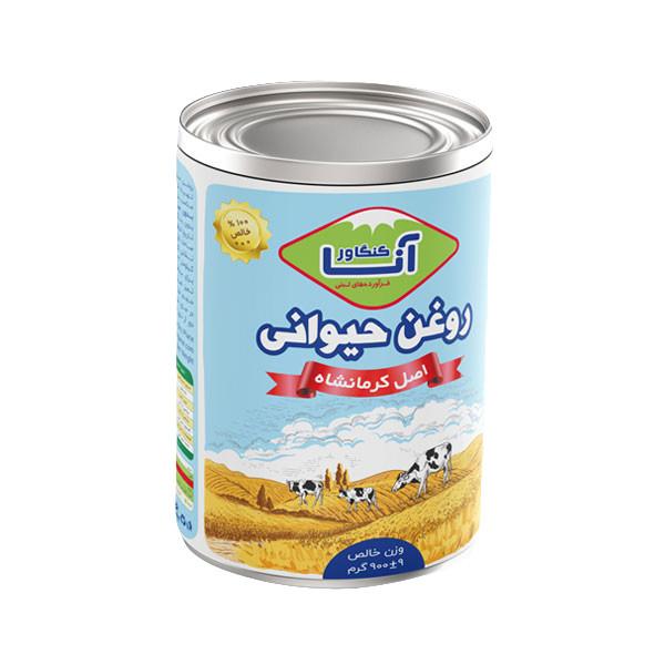 روغن حیوانی کرمانشاهی آناکنگاور - ۹۰۰ گرم