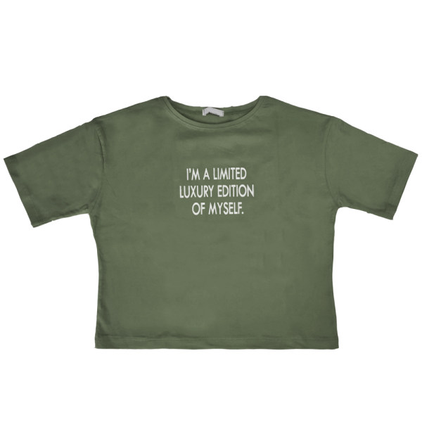 تی شرت آستین کوتاه زنانه کد 1024C