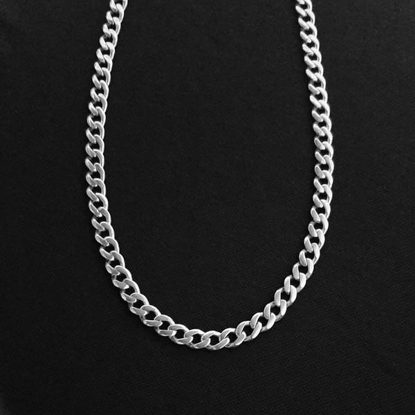 زنجیر نقره مردانه کد HKA7