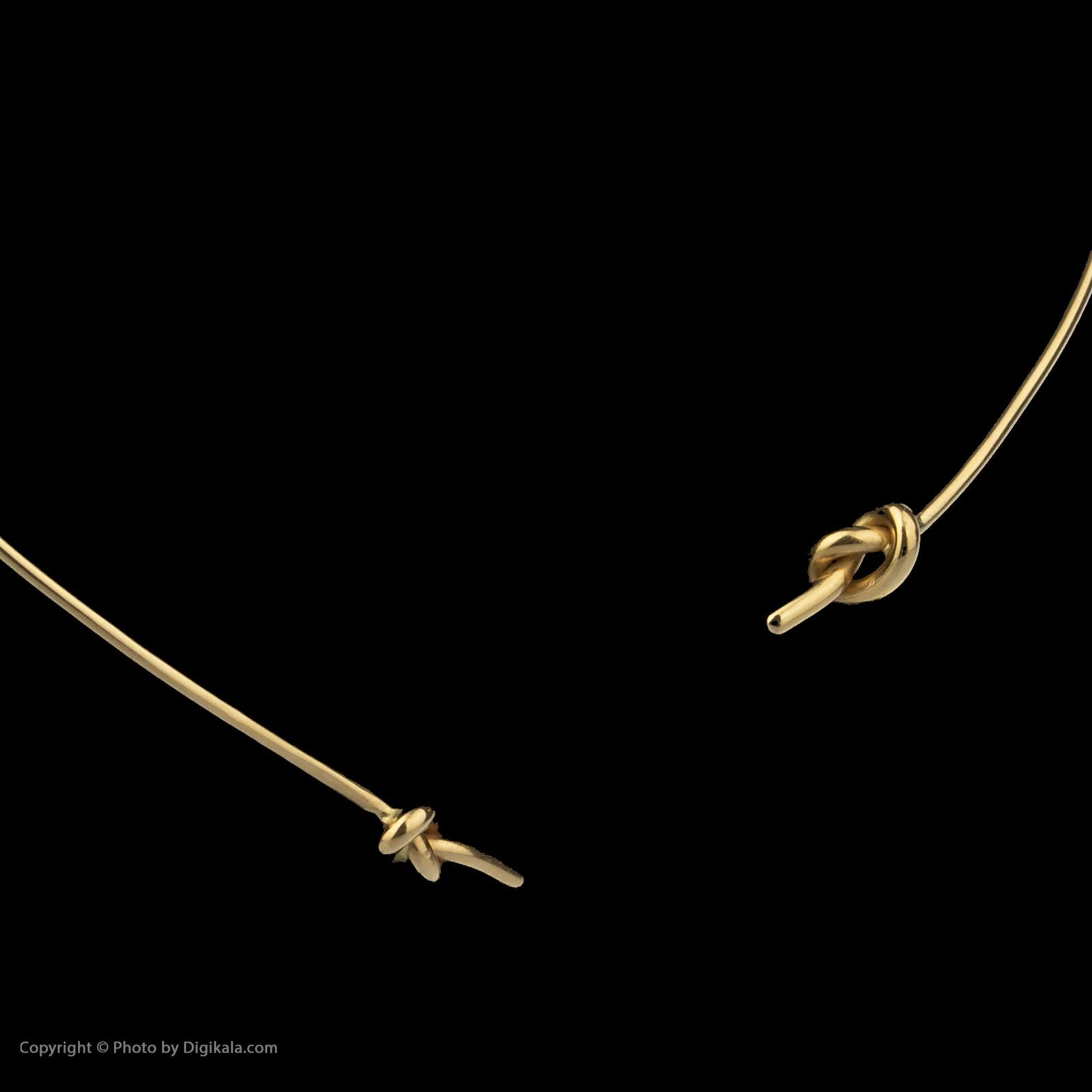 گردنبند طلا 18 عیار زنانه سنجاق مدل x026205 -  - 4