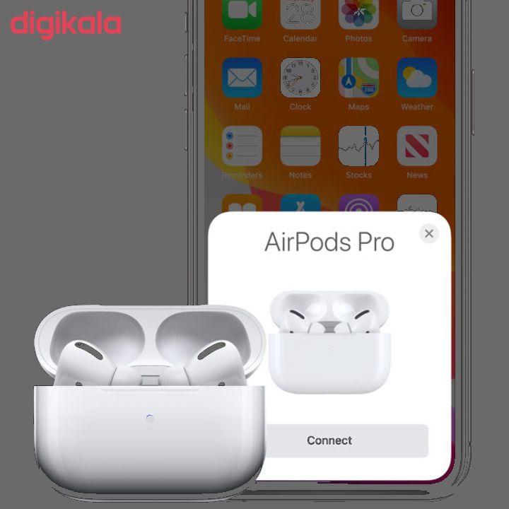 هدفون بی سیم مدل AirPods Pro همراه با محفظه شارژ بی سیم main 1 4