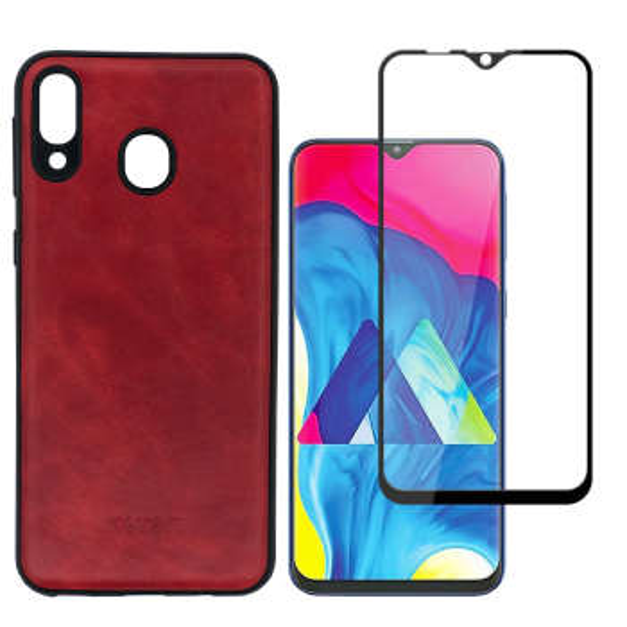 کاور  مدل LETG مناسب برای گوشی موبایل سامسونگ Galaxy M20 به همراه محافظ صفحه نمایش
