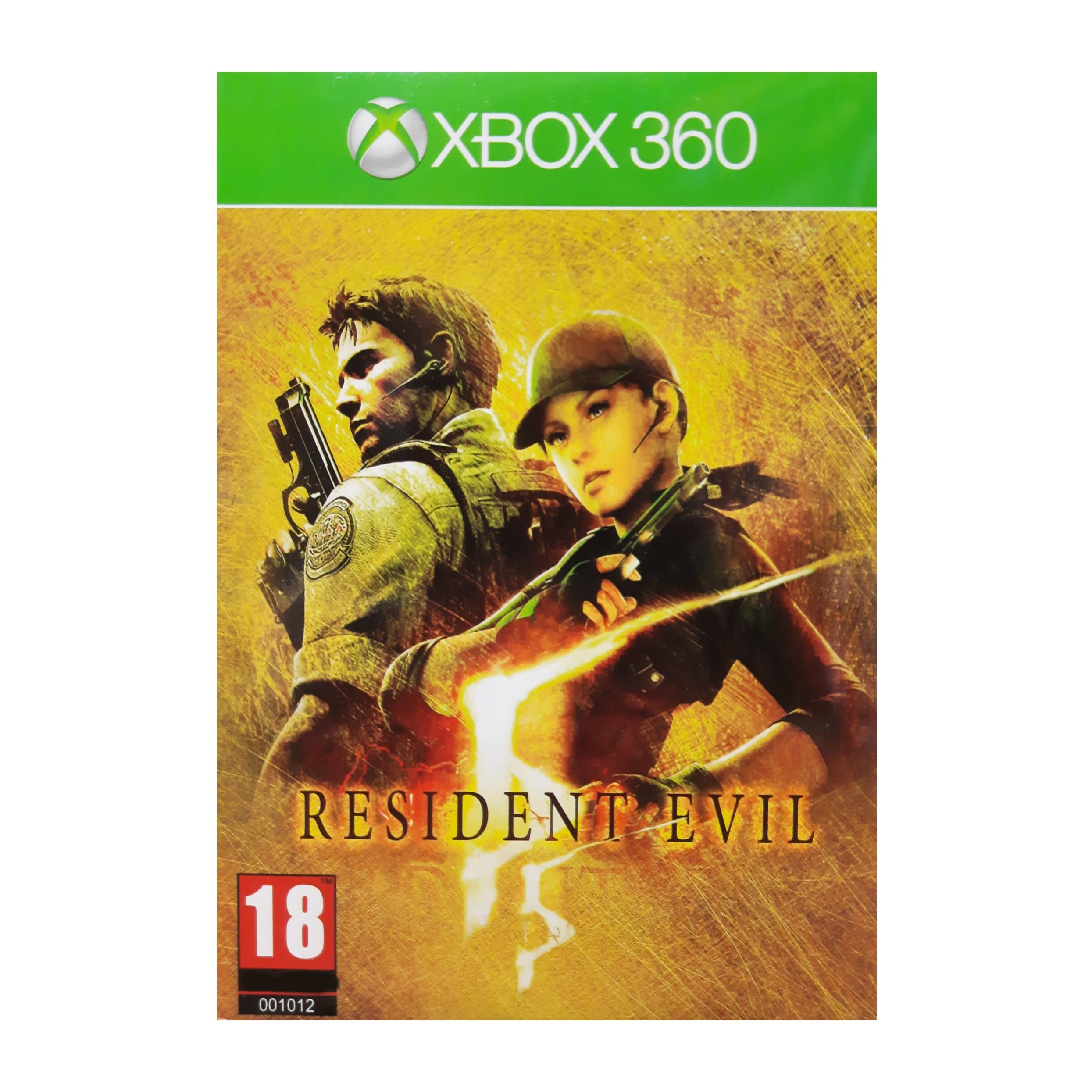بازی Resident Evil 5 مخصوص Xbox 360