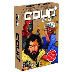 بازی فکری کودتا پلاس مدل coup plus
