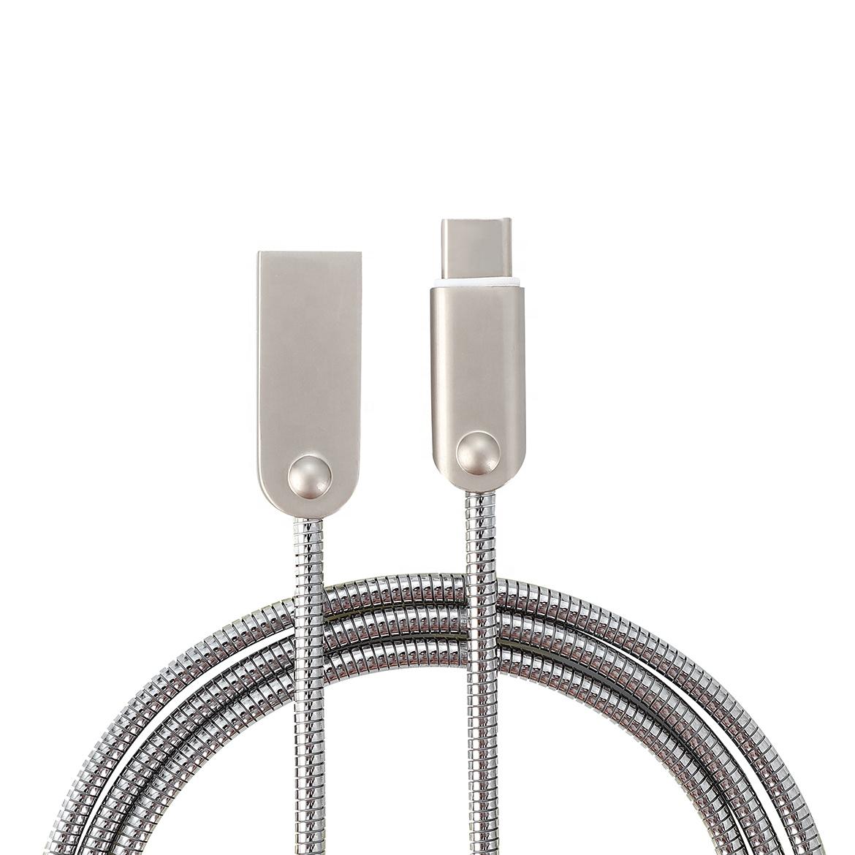 کابل تبدیل USB به USB-C مدل HSH60 طول 1.2 متر