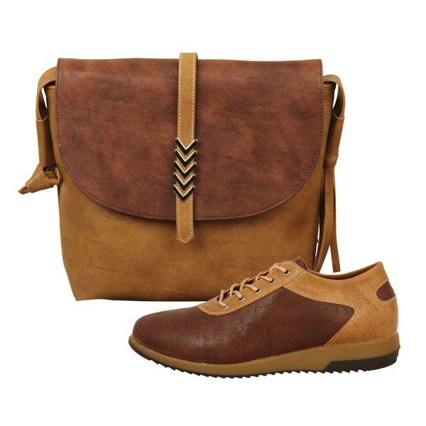 ست کیف و کفش زنانه باب مدل ثمین کد 928-2