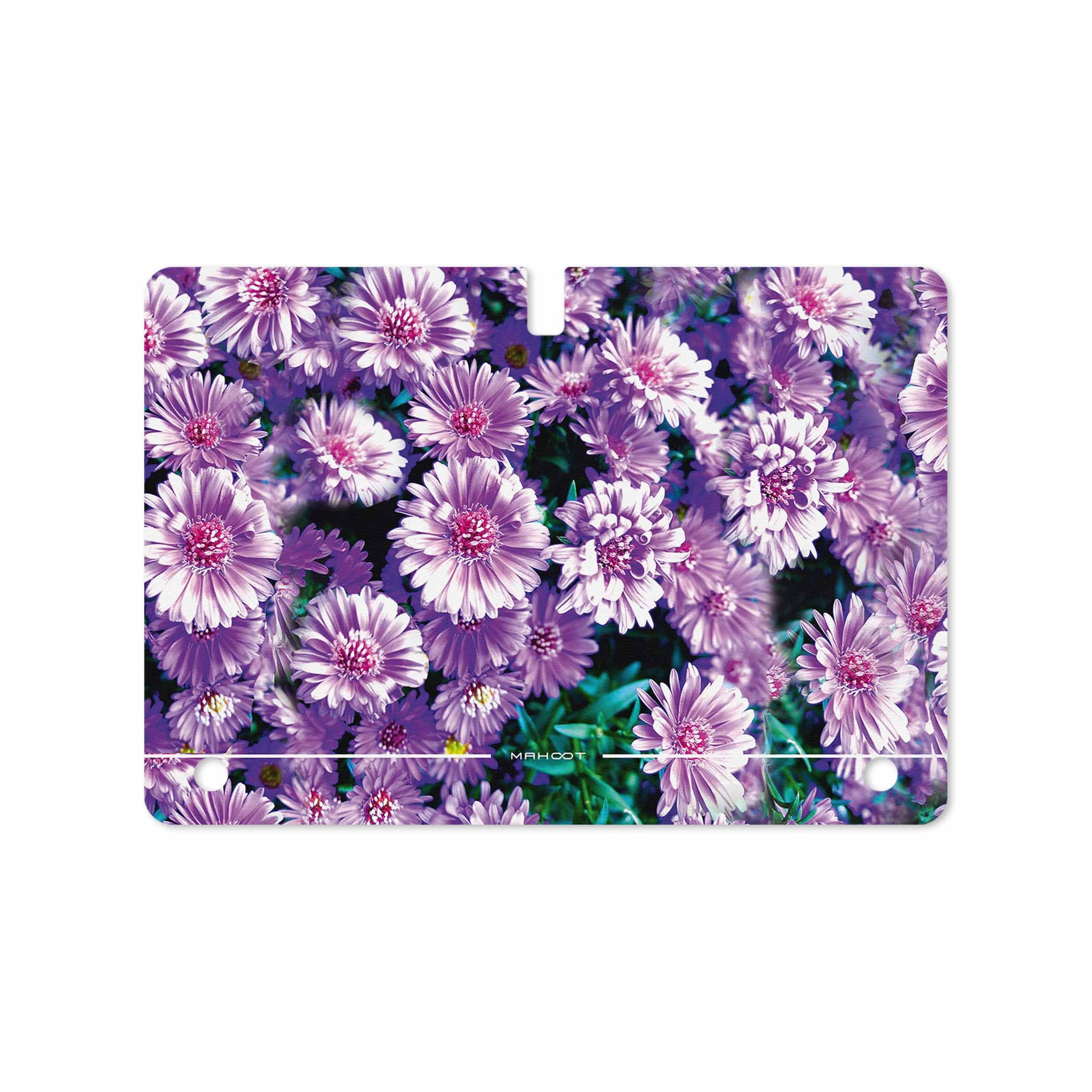 بررسی و خرید [با تخفیف]                                     برچسب پوششی ماهوت مدل Purple-Flower مناسب برای تبلت سامسونگ Galaxy Tab S 10.5 2014 T805                             اورجینال