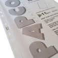 کاور کاغذ A4 پاپکو کد 11100 بسته 100 عددی thumb 2