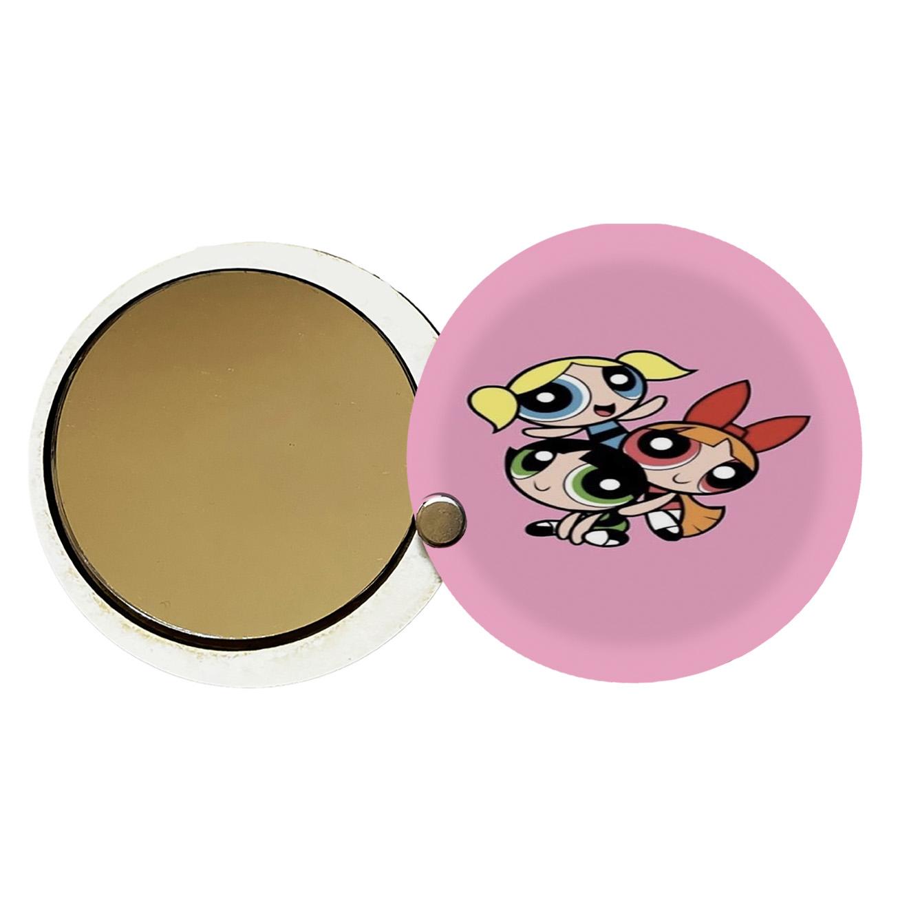 آینه جیبی طرح دخترانه کد ay55
