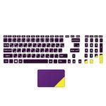استیکر لپ تاپ مدل 72 hk به همراه برچسب حروف فارسی کیبورد