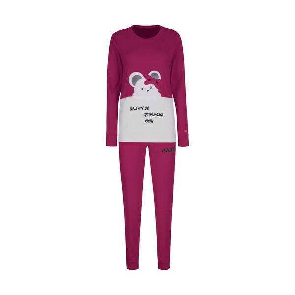 ست تی شرت و شلوار زنانه مادر مدل 2041301-66