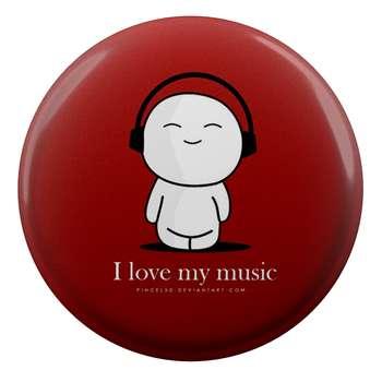 پیکسل طرح من عاشق موسیقی هستم مدل S1369
