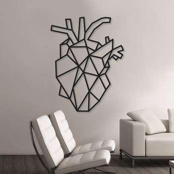 استیکر دیواری طرح قلب کد 001