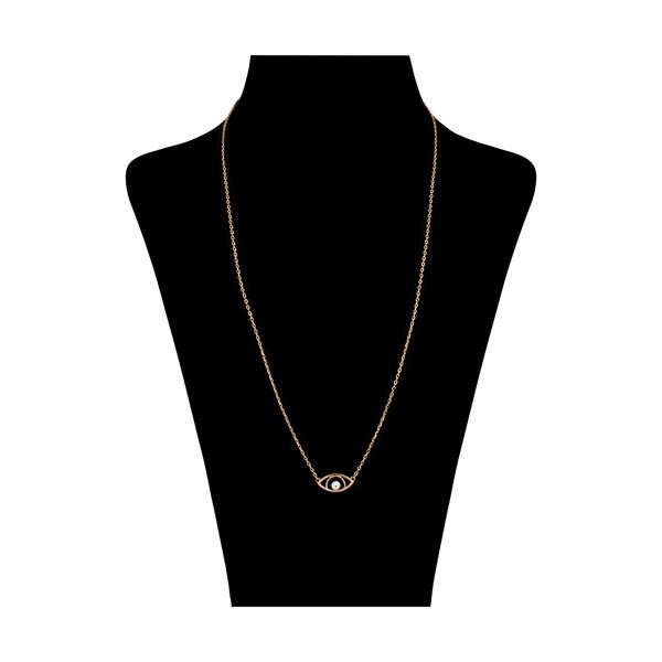 گردنبند طلا 18 عیار زنانه مدیسا مدل N3015