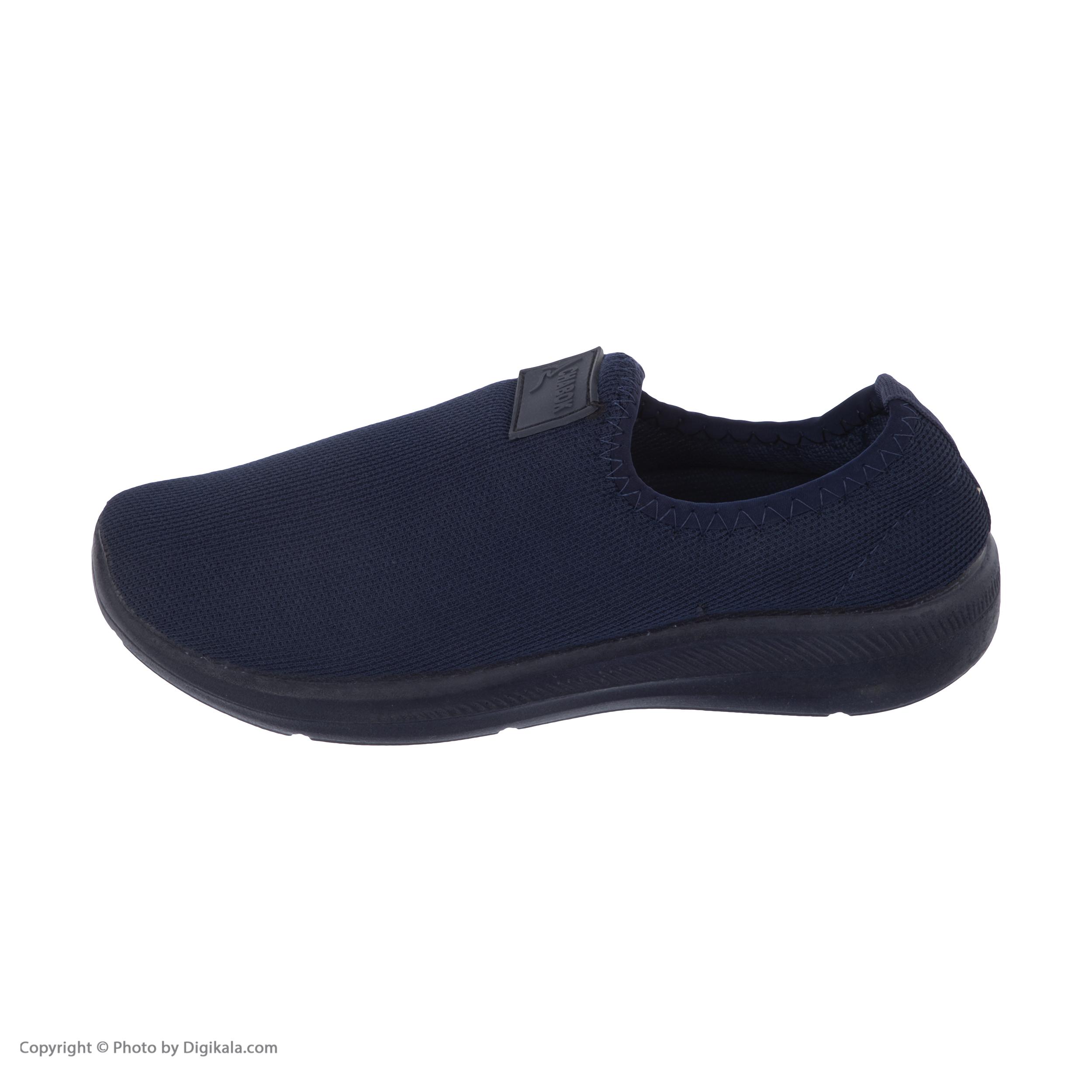 کفش راحتی چابک مدل رامش رنگ سرمه ای -  - 3