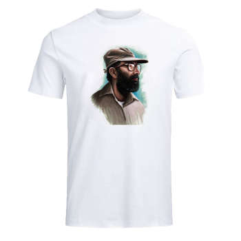تیشرت آستین کوتاه مردانه مدل شهید مصطفی چمران 002