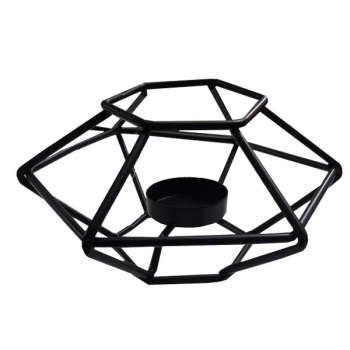 جا شمعی مدل شش ضلعی کد BEH123
