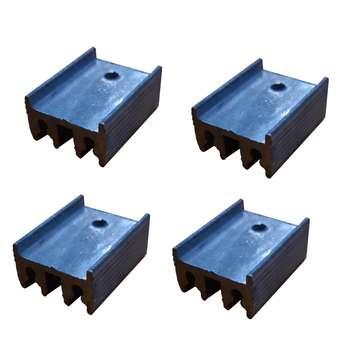 هیت سینک تراشی مدل TO-220-4p بسته 4 عددی